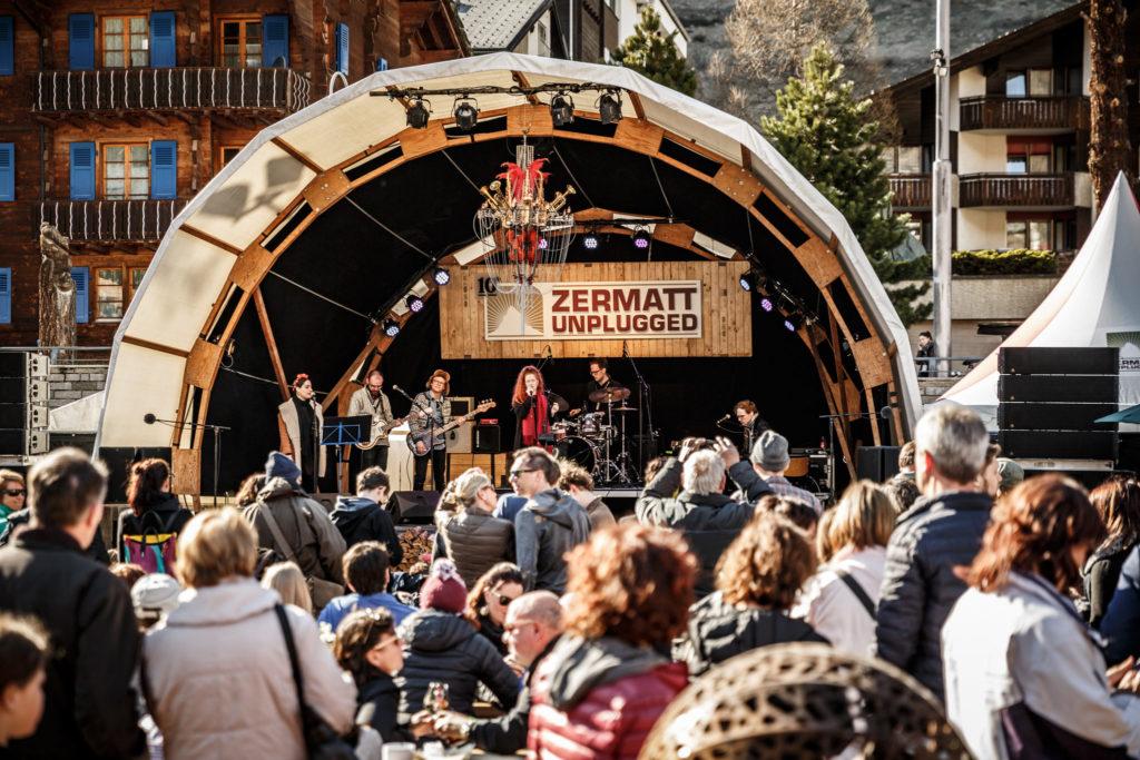 Mittlere Bühne - Zermatt Unplugged 2017